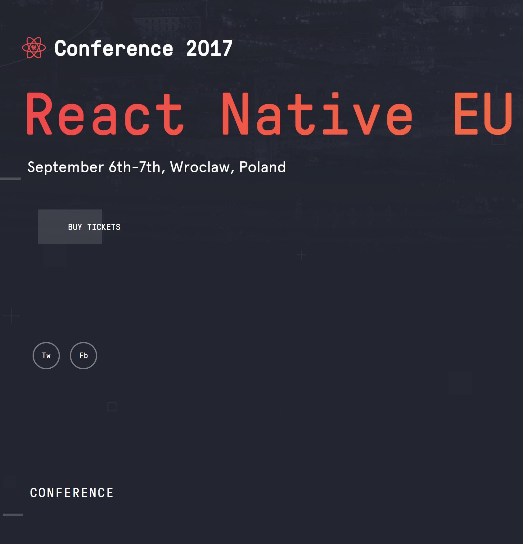 React Native EU 2017