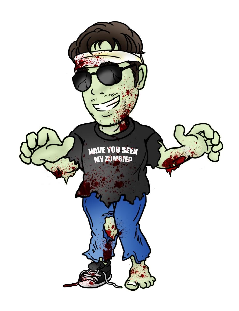 Gant as a zombie