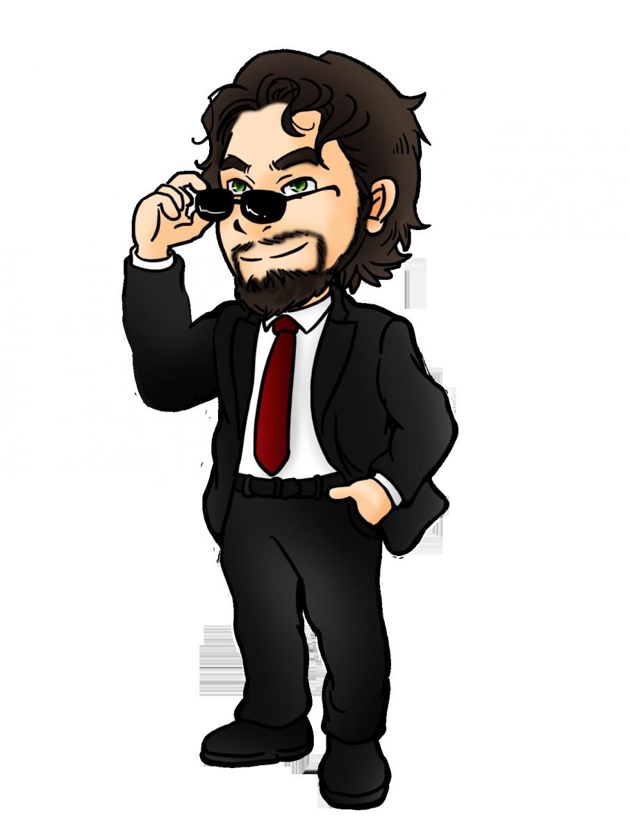 Gant in suit