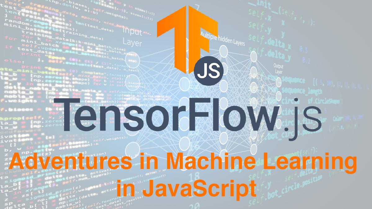 Tensorflow meetup graphic