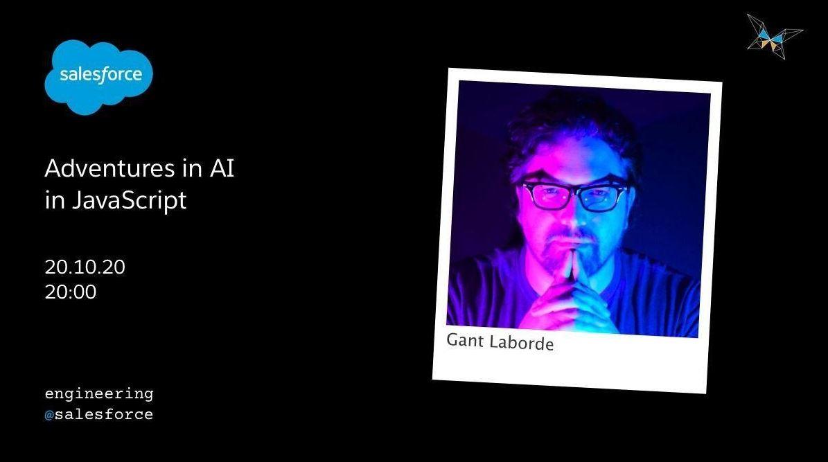 Gant speaking at Salesforce