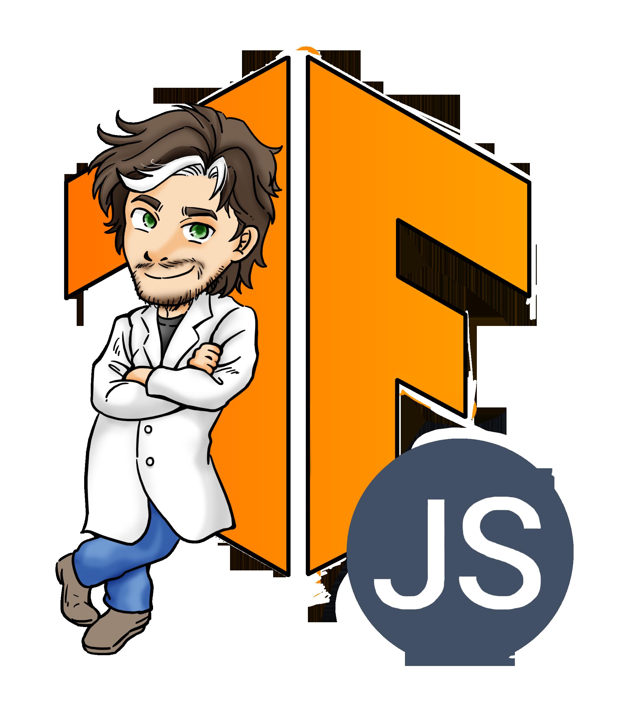 TFJS TensorflowJS logo with Gant